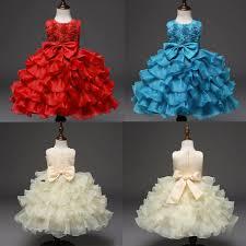 Baby <b>Girls Wedding Bridesmaid Pageant</b> Princess Formal <b>Dress</b> ...