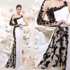 Wholesale <b>2014</b> Modern <b>free shipping</b> mermaid white <b>formal</b> ...