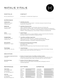 resume motion graphics resume template motion graphics resume picture full size
