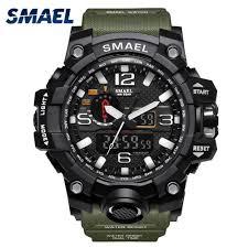 <b>SMAEL</b> 1545 Men <b>Digital</b> Sports Watch Outdoor LED Men's ...