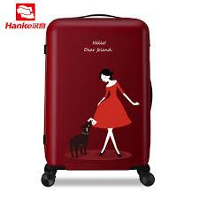 <b>Hanke 24</b>'' <b>Rolling Luggage</b> Bag Travel Suitcase Female Girls ...