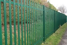 2.4 Meter <b>Palisade Fencing</b> - UKs #1 Supplier   Safe Fence