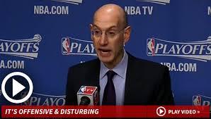 NBA Commissioner Adam Silver -- Donald Sterling Won't Go to ... via Relatably.com