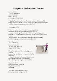 prepress technician resume sample resumecareer info prepress technician resume sample resumecareer info prepress