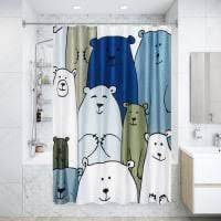 Шторки для <b>ванной</b> в Екатеринбурге – купите в интернет ...