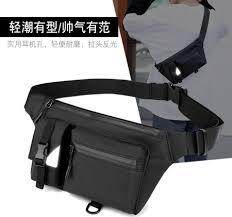 <b>Outdoor Leisure men's</b> waterproof chest bag multi-functional running ...