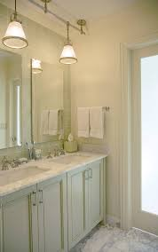 northbrook residence example of a trendy bathroom design in chicago with recessed panel cabinets pendant light awesome sample pendant lights bathroom