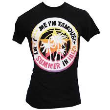 Давид Гетта <b>F</b> *** Me I'm <b>Famous</b> Ibiza Мужская <b>футболка</b> летние ...