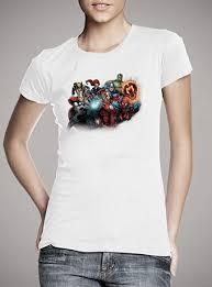 <b>Женская футболка Marvel</b> Heroes — продажа: цены, фото ...
