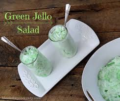 Green Jello Salad - - <b>Blessed</b> Beyond <b>Crazy</b>