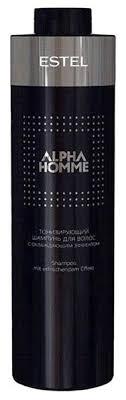 ESTEL <b>шампунь</b> Alpha Homme <b>тонизирующий</b> с охлажд ...