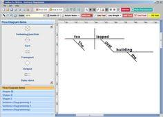 images about sentence diagrammer software on pinterest    toolbox for writers sentence diagrammer plus is for those who are learning  teaching  or