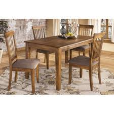 dining set pine leather seats