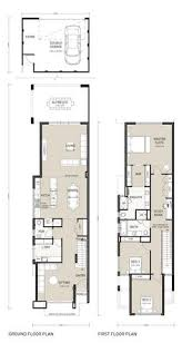 ideas about Narrow House Plans on Pinterest   Small House    narrow two story house plans   Google Search