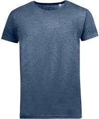 <b>Футболка мужская MIXED MEN</b> темно-синий меланж