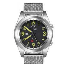 <b>Умные часы NO.1 S9</b> серебро, ремешок сталь — купить в ...