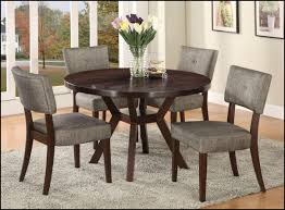 4 chair kitchen table:  stylish round kitchen table with round kitchen tables
