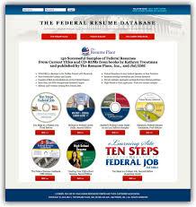 federal resume database online federaul resume database