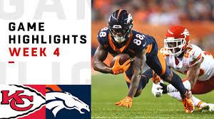 Mahomes Leads EPIC Comeback | Chiefs vs. Broncos 2018 NFL ...