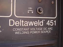 miller deltaweld dc arc welder cv v ph w remote miller deltaweld 451 dc arc welder cv 230 460v 3ph w remote