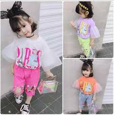 <b>Summer new</b> fashion mesh patchwork <b>Puff</b> sleeve short t shirts baby ...