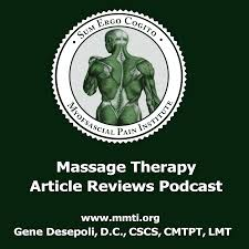 Massage Therapy Article Reviews Podcast – The Myofascial Pain Institute