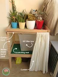 diy cat litter furniture toma creations cat litter box furniture diy