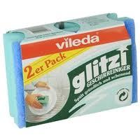 <b>Губка для посуды Vileda</b> Глитци 2 шт — Тряпки, щетки, губки ...