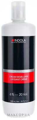 Indola Profession Cream Developer 6%-20 vol - <b>Крем</b>-<b>проявитель</b> 6 ...