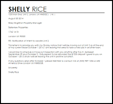 early lease termination letter sample early lease termination letter template