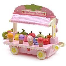 V Fantasy Pink Cute <b>Wood</b> Mother Garden Strawberry Ice Cream ...