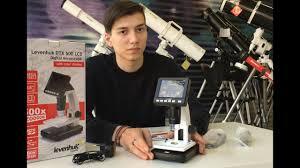 Цифровой инструментальный <b>микроскоп Levenhuk DTX</b> 500 LCD ...