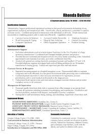 Resume Objective Statement For Customer Service  resume sample     Resumes  Esay  and Example Templates functional resume for an office assistant