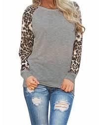 <b>Women's</b> European <b>Leopard Chiffon</b> Sleeve T-<b>shirt</b>, Size: S & M, Rs ...