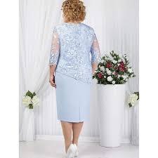 Wipalo Plus Size Dress <b>Women</b> Lace Stitching <b>Fake Two</b>-<b>Piece</b> ...