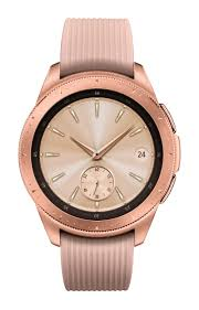 Rose Gold Samsung Galaxy <b>Watch</b> - 42mm <b>Bluetooth</b> | Samsung US