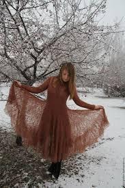 """<b>Платье</b> вязаное """"<b>Мечта поэта</b>"""" – заказать на Ярмарке Мастеров ..."""