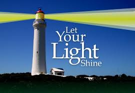 Image result for Let your Light Shine images