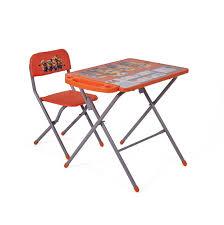 <b>Комплект детской</b> мебели <b>Polini</b> kids 303 Гадкий я, оранжевый ...