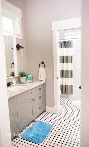 jill bathroom configuration optional: the house of figs the montgomery house cabinet is bm chelsea gray and walls