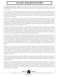 essay best photos of tenant termination of lease agreement termination early lease termination letter template