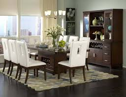 dining table chair interior designing home frantic room with dark brown table also white dining chairs plus simpl