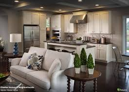 Living Room And Kitchen Beautiful Open Kitchen And Living Room Area Love The Feel Of The