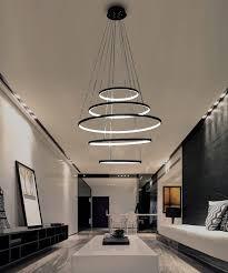 New Arrival Classical <b>Circle Ring Led Modern</b> Pendant Light For ...