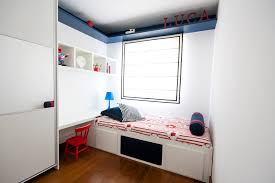 regina meira inspiration for a contemporary kids room remodel in other with white walls biege study twin kids study room