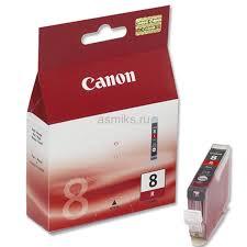 <b>Картридж Canon CLI</b>-<b>8</b> R (<b>red</b>) 13 мл 0626B001 Оригинальный