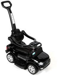 <b>Каталка</b>-электромобиль <b>Barty Ford Ranger</b> DK-P01P черного цвета