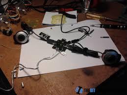 adding an external power supply to a cheap usb hub the bit bang hub usb two webcams jpg