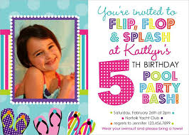 pool party birthday invitations net pool party birthday invitation a scart birthday invitations