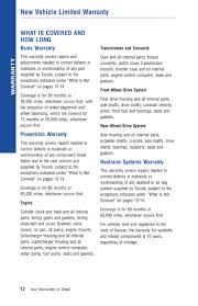 Toyota Financial Statement 2012 Toyota Yaris Warranty Amp Maintenance Information